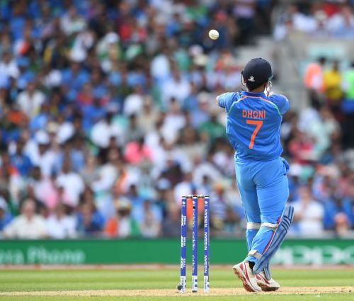 Dhoni's dismissal in the final ended India's hopes