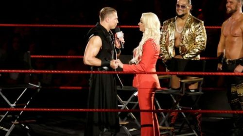 The Miz & Maryse announced that they were expecting last month on RAW
