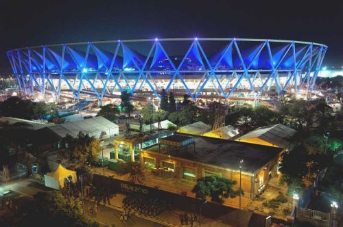 The JLN Stadium in New Delhi
