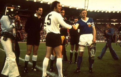 Franz Beckenbauer of West Germany