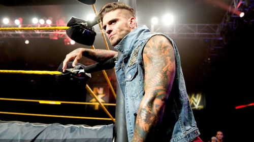Corey Graves was in WWE 2K15 before injury forced him to retire and transition to commentary