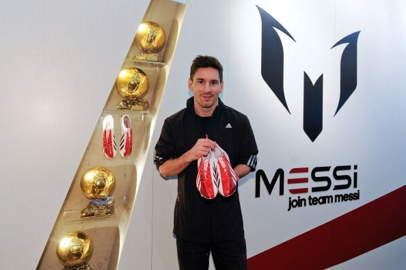 42c3b0ad7 Top 5 shoes worn by Lionel Messi