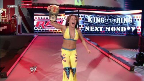 Mickie is a former 5-time Women's Champion