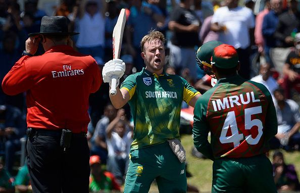 Stats AB De Villiers Gets To His Highest Ever Score In ODIs Breaks Numerous Records