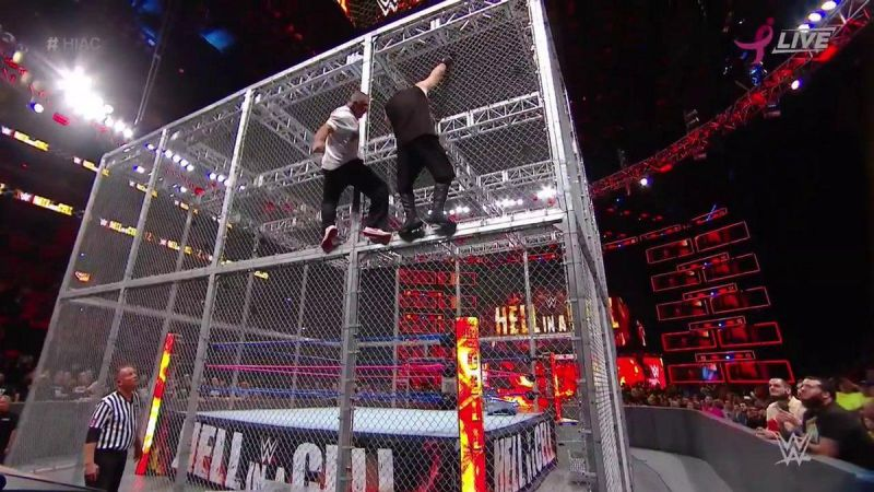 Shane Mcmahon Vs Kevin Owens Hell In A Cell Fall Counts