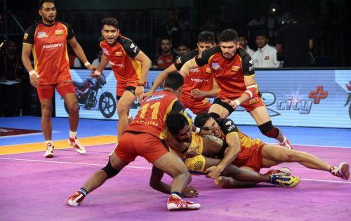 Bengaluru punished Thalaivas for their mistakes.