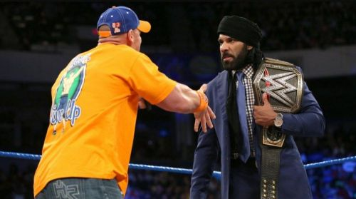 John Cena and Jinder Mahal are rumored to collide in the near future