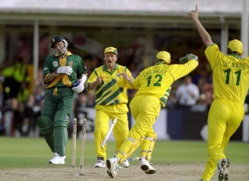 South Africa Australia 1999 World Cup