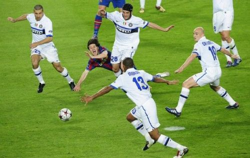 Inter Milan parked the bus and knocked out Barcelona from UCL 2010