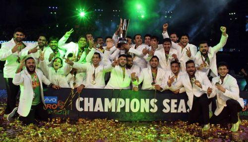 Patna Pirates clinched the PKL Season 5 trophy