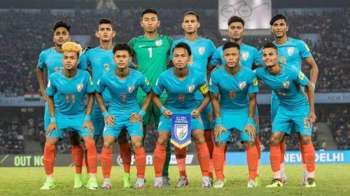 India U17 side.