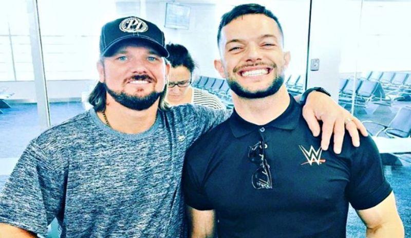 3bc3cea873f WWE News  Finn Balor and AJ Styles react to dream clash