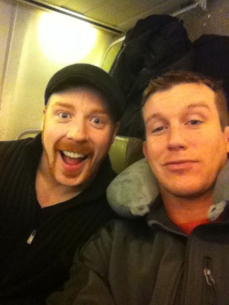 Sheamus and Ted DiBiase