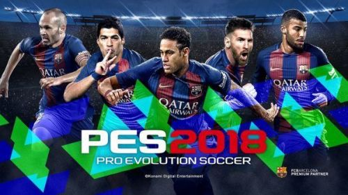 A Special Barcelona edition was announced by Konami for the 2018 edition of PES.