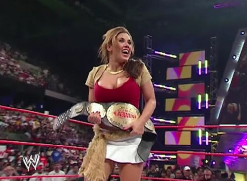 Mickie made her WWE debut back in 2005