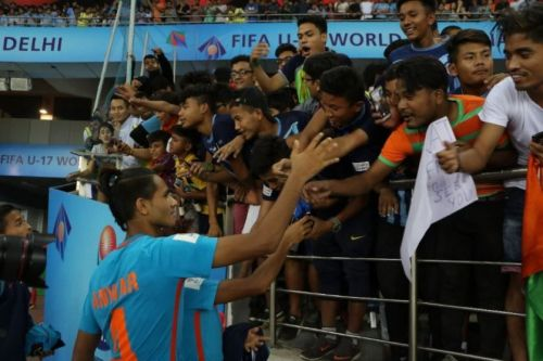 Despite losing, the Indian football team won billions of hearts with their performance in the FIFA U17 World Cup.