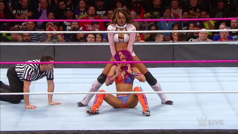 WWE News Alicia Fox Fined For Pushing Referee Darrick