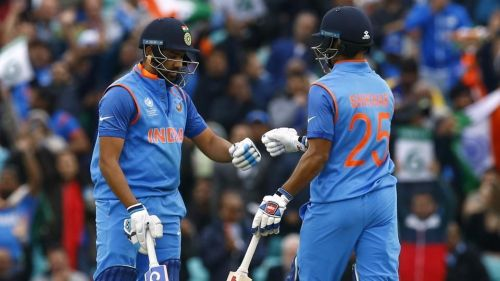 Rohit and Dhawan will be looking to give India the perfect start