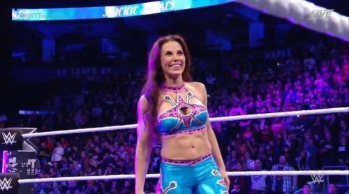 Mickie James returned to WWE to face Asuka at NXT Takeover: Toronto