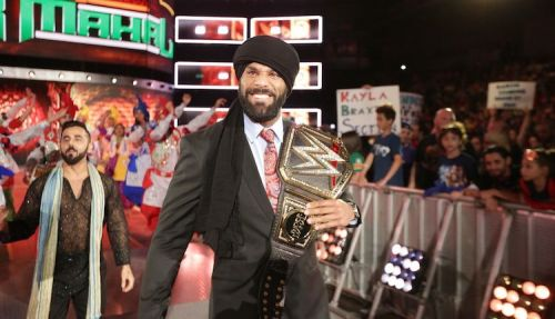 Jinder Mahal is still the WWE Champion...let that sink in