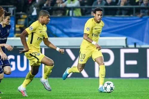 PSG eased past Anderlecht last night