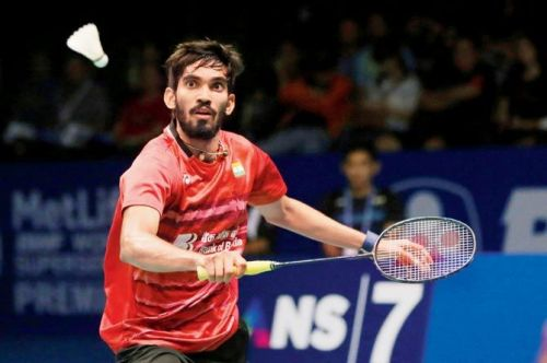Srikanth takes on Wong Wing Ki Vincent in the semi finals of the Denmark Open
