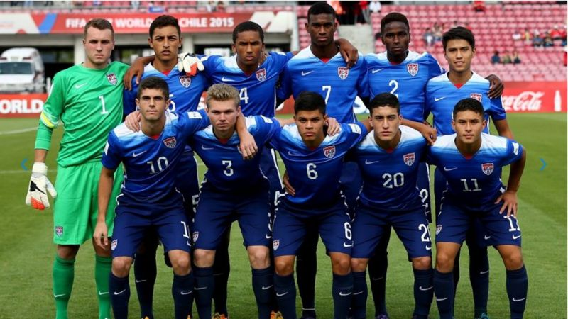 USA have qualified for all but one FIFA U-17 World Cups.