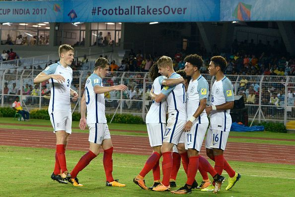 Image result for u17 England vs Brazil pic