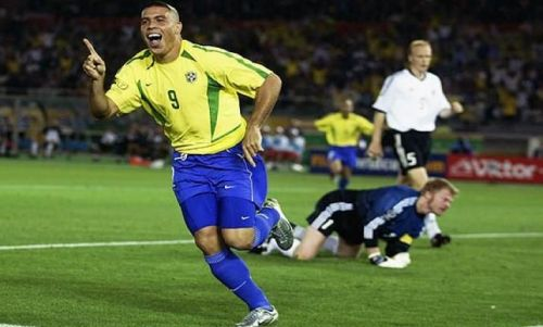 Brazilian legend Ronaldo was the ultimate number 9