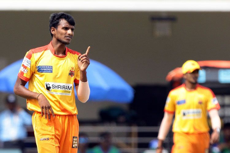 T Natarajan was bought for a sum of 40 lakhs in 2018 by SRH.