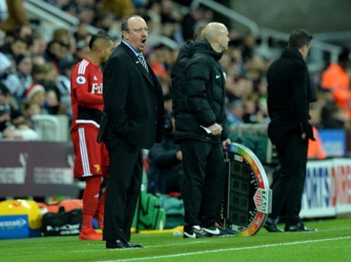 Rafa has injury and suspension problems to deal with at Newcastle