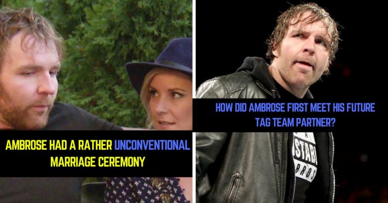 6 of the best dean ambrose real life stories m4hsunfo