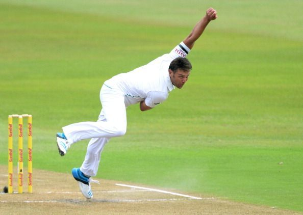 South Africa v India 2nd Test - Day One