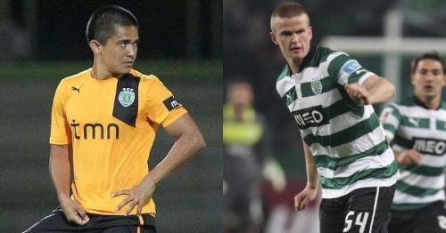 Both Sunil Chhetri and Eric Dier played for the Sporting Lisbon B side