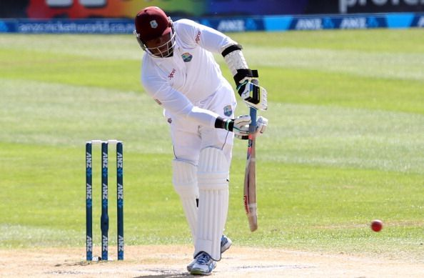 New Zealand v West Indies - First Test: Day 4