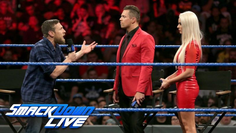 The Miz heaps loads of praise on Daniel Bryan