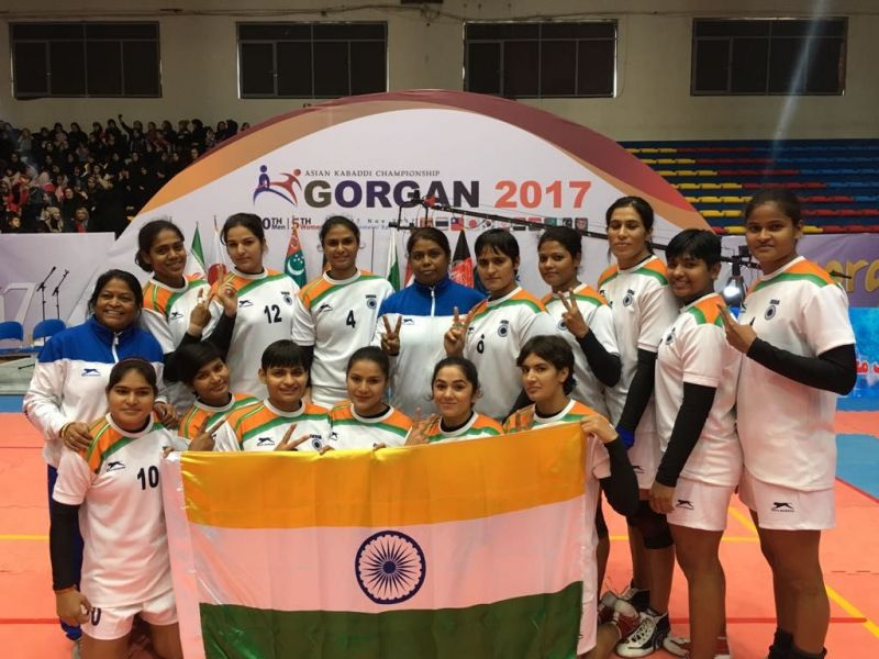 Asian Kabaddi Championships  Indian Womens Team Defeats Korea   In Final To Win Gold Medal