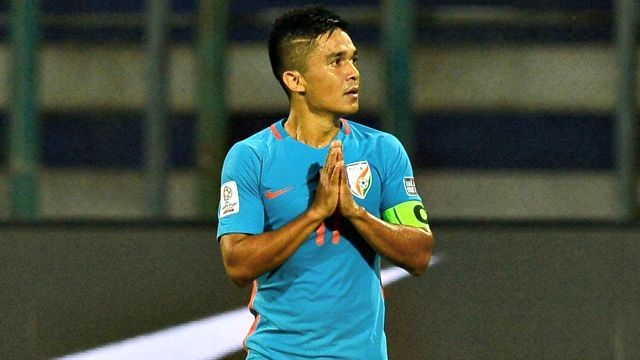 Video: Sunil Chhetri's ghost goal and why it was denied in ...