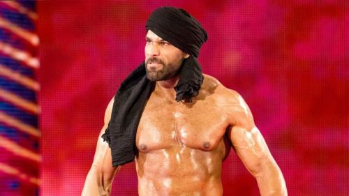 Despite reigning as champion, Jinder Mahal didn't set foot inside Hell in a Cell.