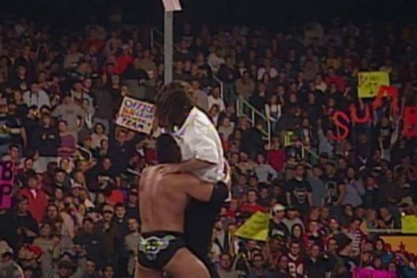 There have been some strange pole matches in WWE/WCW over the past few years