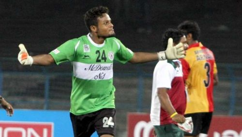 Debjit Majumder was a part of Mohun Bagan's I-League winning squad in 2015