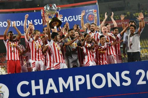 ATK won the previous edition of the ISL, which could be merged with the I-League in the future