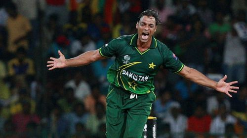 Image result for Shoaib Akhtar 3 wickets in 1 over