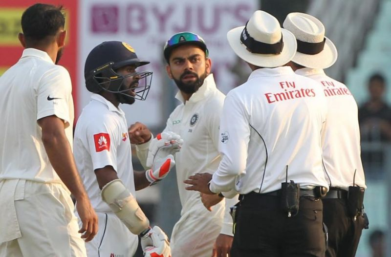 Virat Kohli has no complaints about Niroshan Dickwella's
