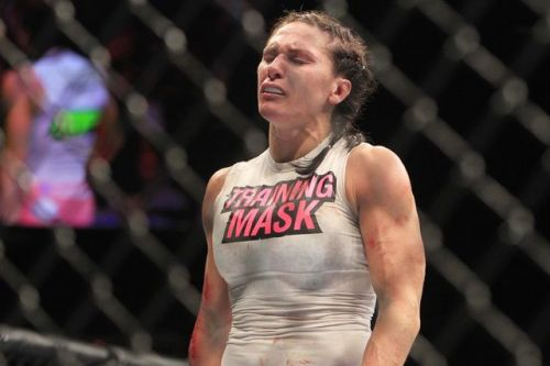 Zingano was overwhelmed with emotions upon her successful return at UFC 178