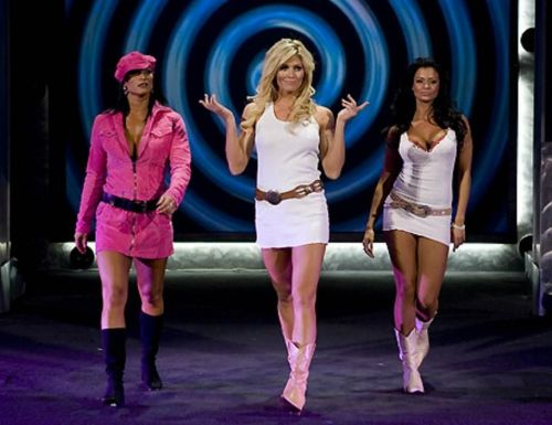 Torrie aligned herself with Candice Michelle and Victoria back in 2005
