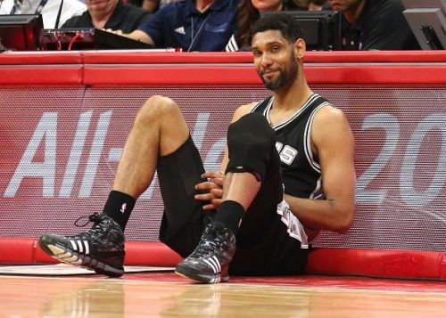 Tim Duncan has had an exceptional record since his initial days
