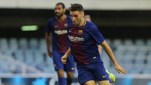 Abel Ruiz currently plays for Barcelona's B team in the Second Division
