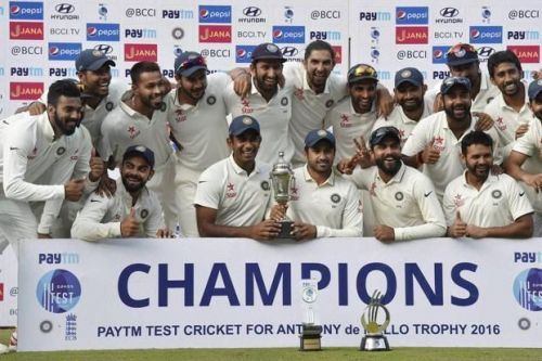 India the No.1 test team in the world