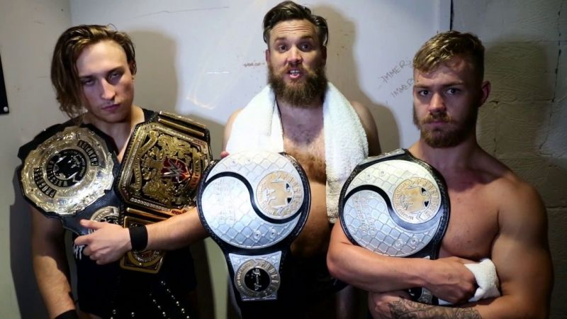 The British Strong Style are one of the most dominant factions in the Independent scene